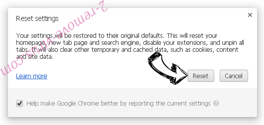 Search.searchpcst.com Chrome reset