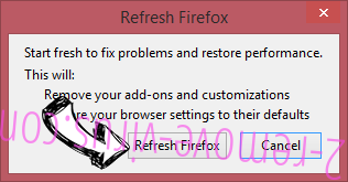 Search.searchm3p.com Firefox reset confirm
