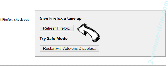 MapsScout Offers Firefox reset