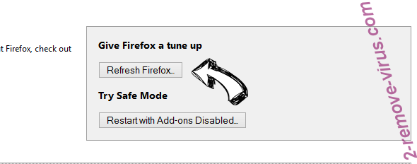 Pronotifications.online ads Firefox reset