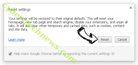 Bigclicker.me Chrome reset