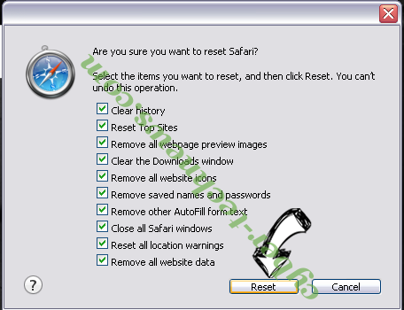 meknews.biz virus Safari reset