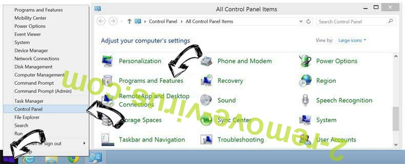 Delete EverydayLookup Toolbar from Windows 8