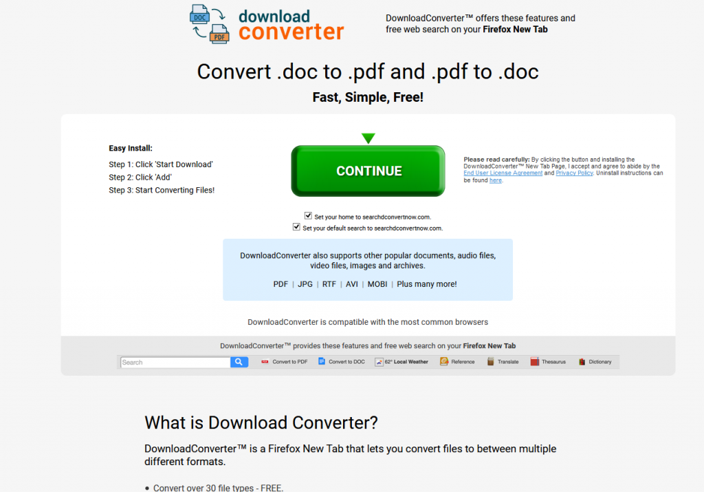 Remove Download Converter Now from Chrome