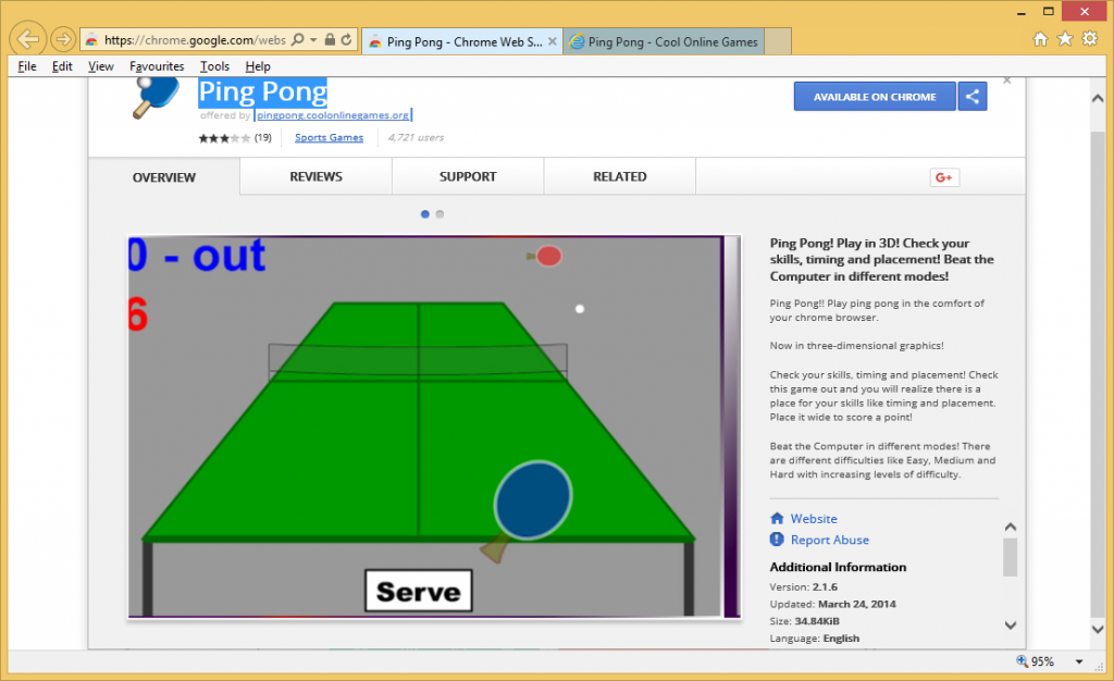 PingPong Chrome Extension