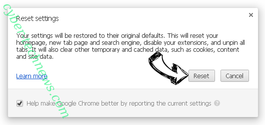 Search.searchhoro.com Chrome reset