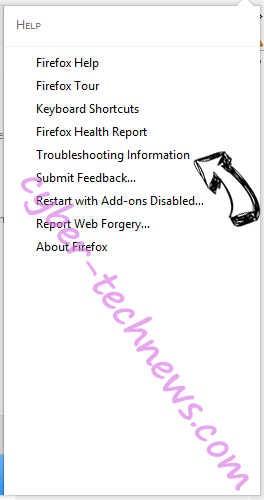 Searchtab.net Virus Firefox troubleshooting