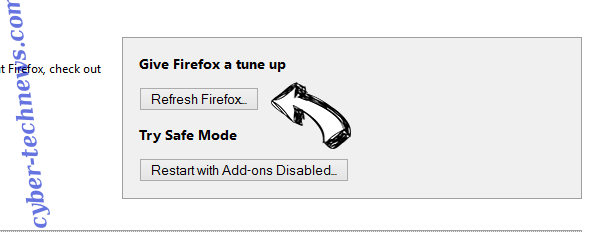 Netsearcher.site redirect Firefox reset