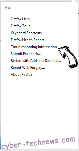 Netsearcher.site redirect Firefox troubleshooting