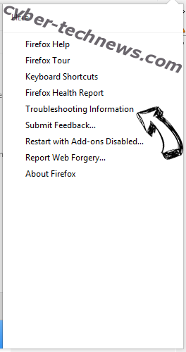 Search.moviegoat.com Firefox troubleshooting