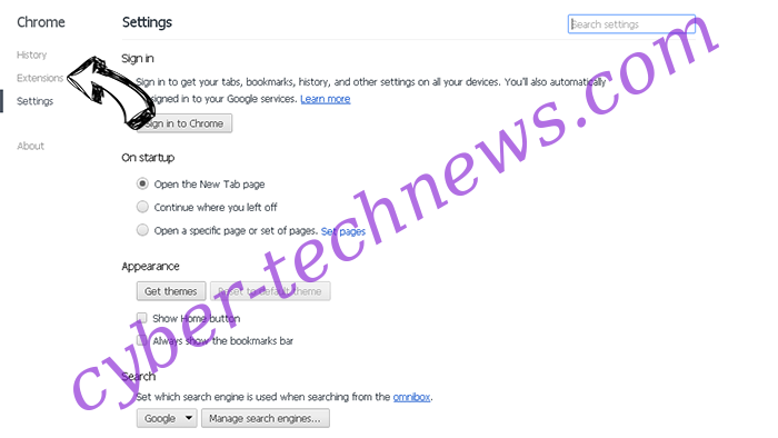 PenWes Adware Chrome settings