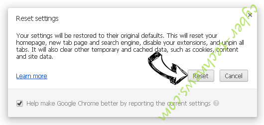 Search.searchgtp2.com Chrome reset