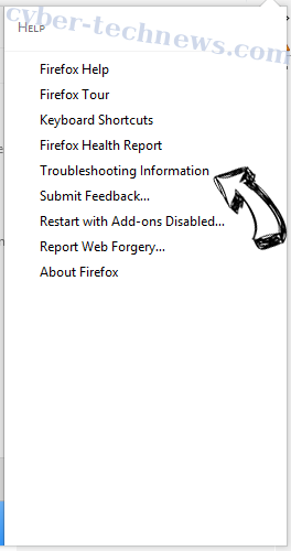 Brainfinds Virus Firefox troubleshooting