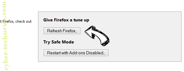 Shoppers Tab Virus Firefox reset