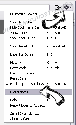 Sowin8.com Safari menu
