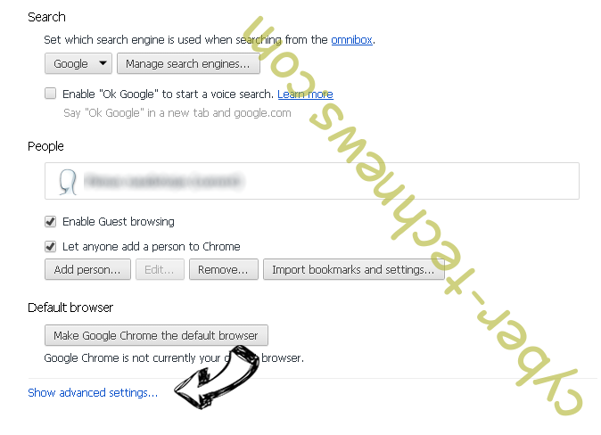 Getlnk6.com Chrome settings more