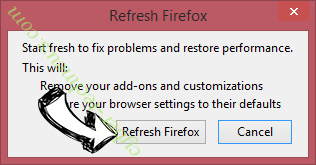Search.weather-genie.com Firefox reset confirm