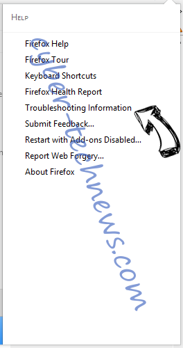 Whateveryf.info Firefox troubleshooting