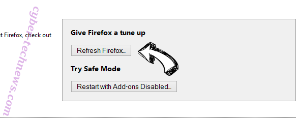 Nsrooting.com Firefox reset