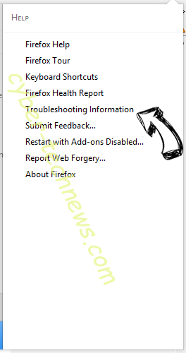 Acadestypicallic.info Firefox troubleshooting