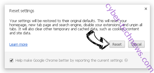 Wwww.money Chrome reset