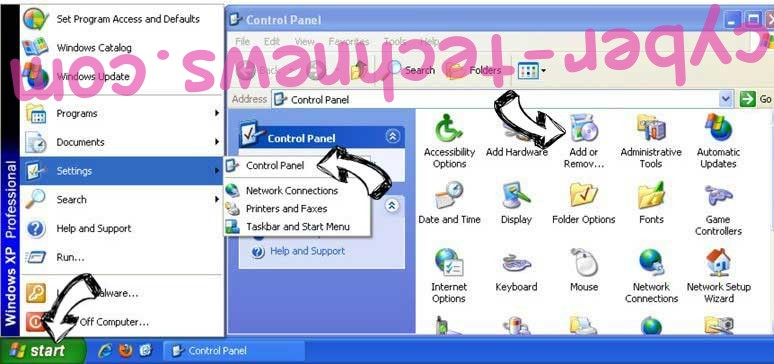 Remove ManagementMark adware from Windows XP