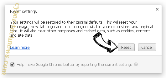 Defpush.com Chrome reset