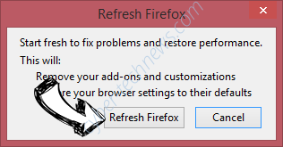 Search.hogwarin.com Firefox reset confirm