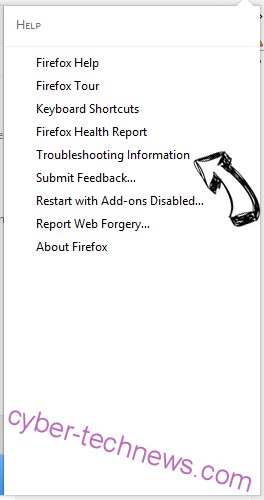 Search.hogwarin.com Firefox troubleshooting