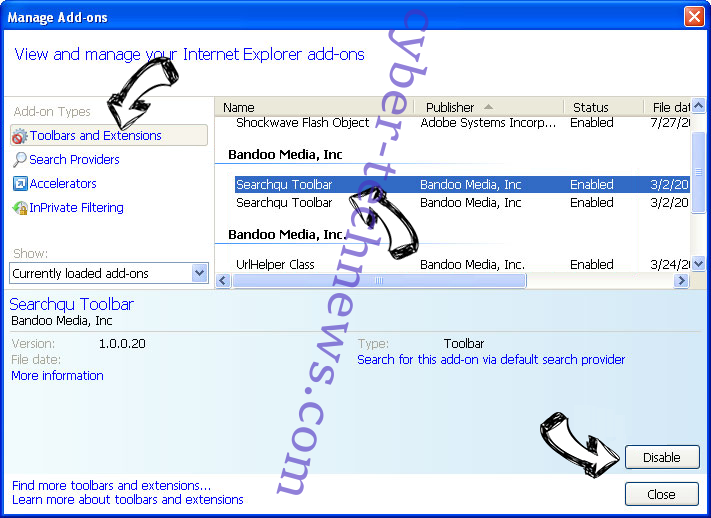 Mp3andvideoconverter.com IE toolbars and extensions