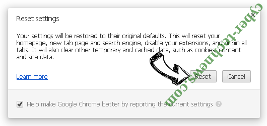Baysearch.co Chrome reset