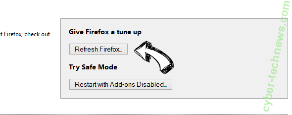 Search.hloginnow.net Firefox reset