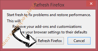CinemaBits New Tab Firefox reset confirm
