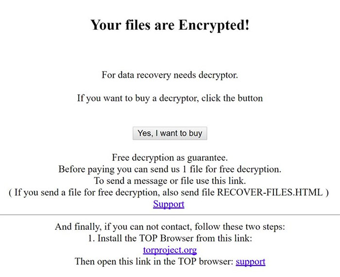 Ta bort Assembly Ransomware