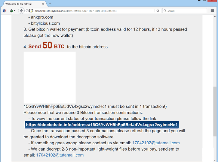 Get rid of Bitpaymer ransomware