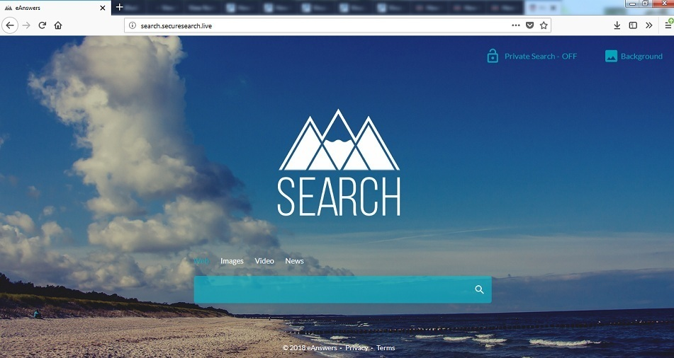 Search.securesearch.live fjerning