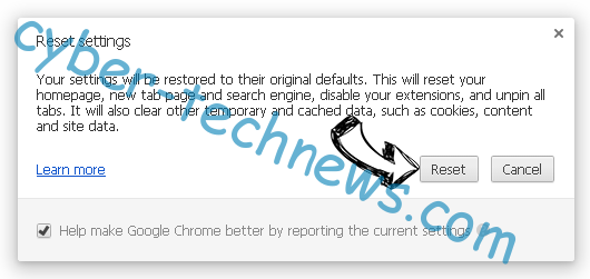 Search.securesearch.live Chrome reset