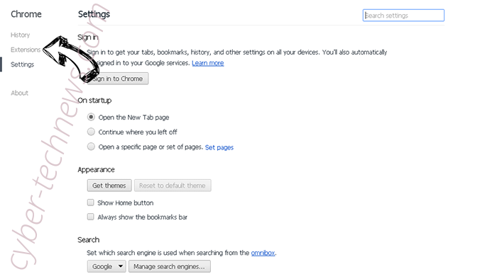 Search.securesearch.live Chrome settings
