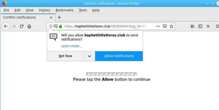 Comment supprimer Haphetititletleres.club