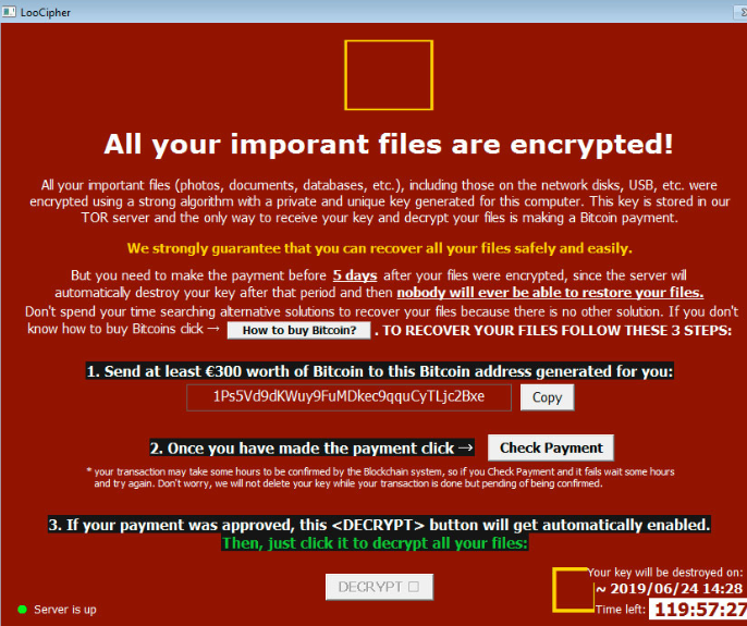 Comment supprimer COPAN Ransomware