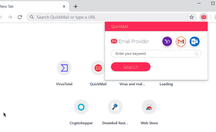 QuickMail Hijacker fjerning
